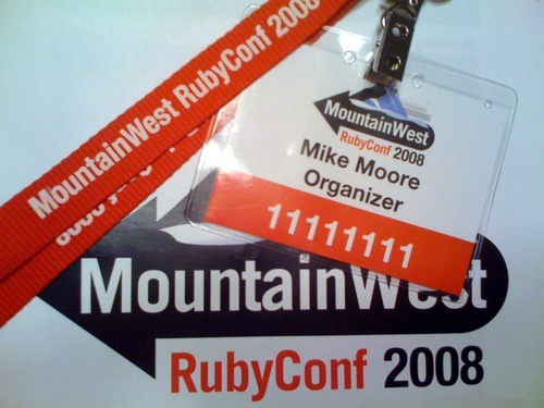 My MWRC Badge. I'm number 11111111 because I made the badges. Its my right as an organizer! :)